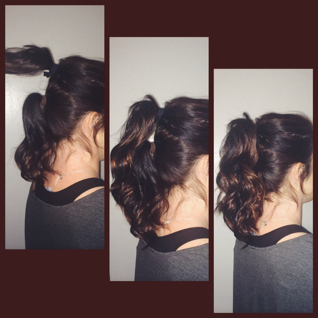 Make Your Ponytail Look Fuller And Longer !! (without